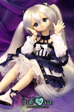 画像2: 【Doll Heart/ゆうパケット可】40cm★クリスタルブルースイートエディション