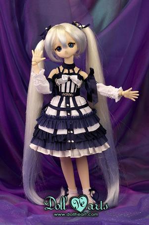 画像1: 【Doll Heart/ゆうパケット可】40cm★クリスタルブルースイートエディション