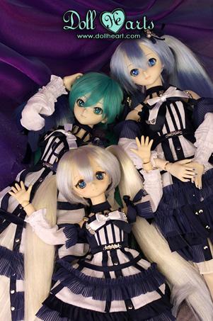 画像3: 【Doll Heart/ゆうパケット可】40cm★クリスタルブルースイートエディション