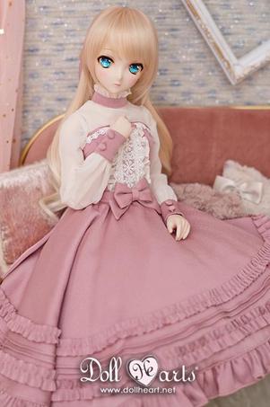 画像1: 【Doll Heart】60cm★ロマンティック ピンク