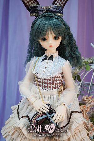 画像1: 【Doll Heart】40cm★ブルーチェスバニー