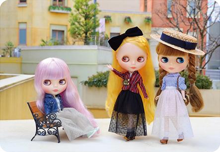 画像3: 【ゆうパケット可】Dear Darling fashion for dolls★チュールロングスカート/ホワイト